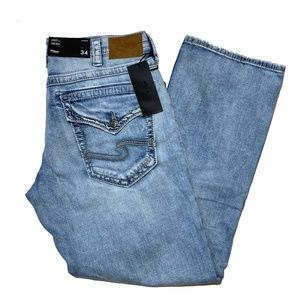 Silver Jeans Gordie Light Wash 34